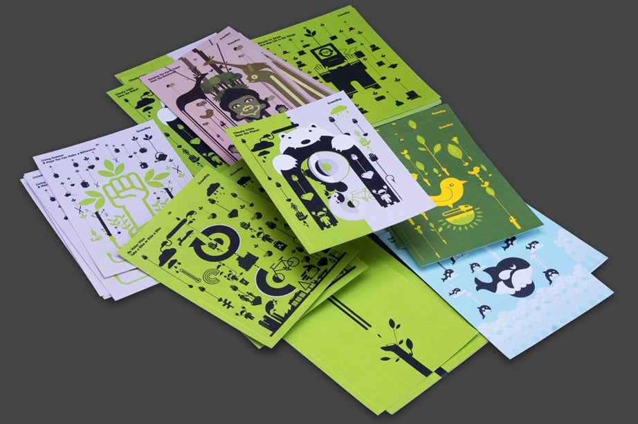 Image of GreenDay Postcards