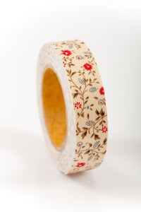 Image of 1 pk fabric tape - mini mums - madison - FT005