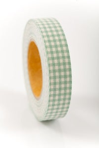 Image of 1 pk fabric tape - mini check - sherbert - FT016