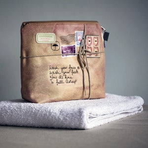Image of Paper Plane Wash Bag