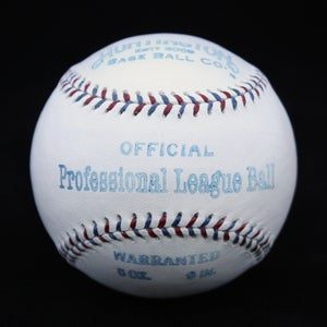 Image of Professional League Ball 1910's - AL style