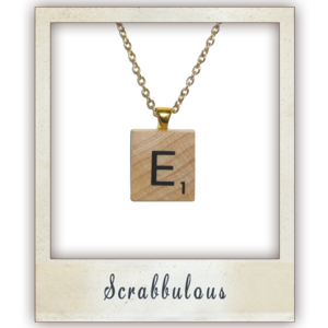 Image of Personalised Scrabbulous Pendant