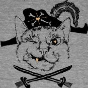 Image of Pirate Cat T-shirt