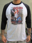 "Image of ""Fist Full of Metal"" Mens Ringer Shirt"