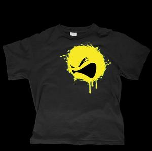 Image of Bassface- RYCA PRINT T-SHIRT BLACK