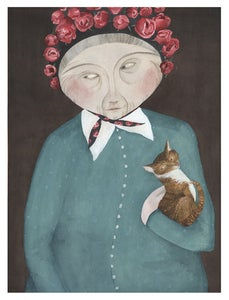 Image of Liida and Moshka -print