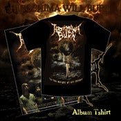 Image of HIROSHIMA WILL BURN album Tshirt
