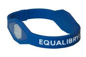 Image of Blue - Equalibryum Titanium Infused Silicone Wristband