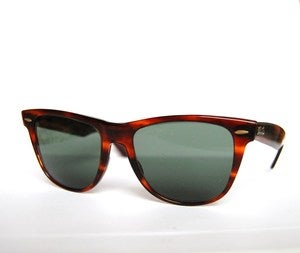 VintageEyewearHandmade  Vintage retro Ray Ban B & L WAYFARER 2 sonnenbrillen sunglasses shades made in USA :  shopping wow retro glam
