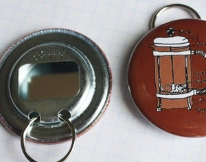 Image of coffee lovers french press bottle opener