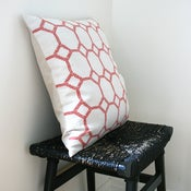 Image of MOSAIC Linen Cushion Cover 45 x 45 cm
