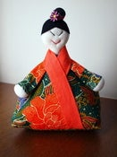 Image of Japanese Woman Doorstop . MDS1001
