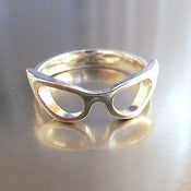 Image of Cat-Eye Glasses Ring