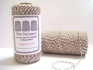 Image of Cappuccino - Brown & White Baker's Twine