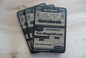 Image of Type Sample / Pinball Sketchbook - 3 pack