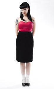 Image of 'Natasha' skirt - available in Black 