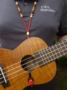 Image of Ukulele Sound Hole Hook Strap  from Kiwaya USA