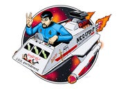 Image of Evil Spock- Pon Farr Flyer Print