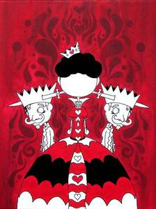 "Image of Queen of Hearts-  ""Malice in Wonderland Series"""