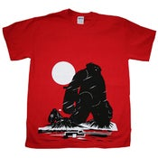 Image of 'Yeti Over Mount Fuji Hong Kong' tee SOLD OUT