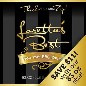 Image of 83 OZ. Loretta's Best BBQ Sauce | Original