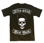 Image of Afro-Punk Biker T-shirt - Black