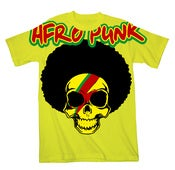Image of Afro-Punk Brains T-shirt - Yellow/Orange