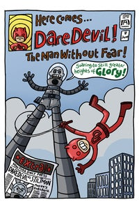 Image of Davedevil Cover Print