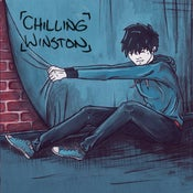 "Image of Chilling Winston 10"" w/ free download"