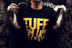Image of TUFF EM UP! RECORD TEE.