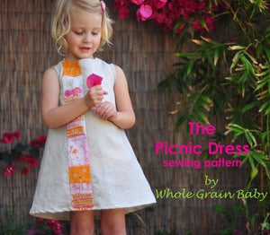 Image of  The Picnic Dress sewing pattern