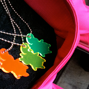 Image of Weather sKwirl™ Edge-Glow Small Acrylic Necklace