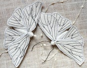 Image of Handmade Textile Moth Ornament / Made to Order