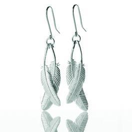 boh runga usa store Duo Miromiro Feather Earrings from bohrungausa.bigcartel.com