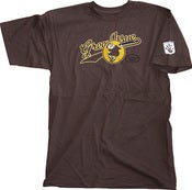 Image of GreenIssue Slugger Series Monk Tee Dark Brown