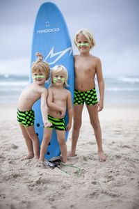 Image of Boys swimmer trunks super cool lycra