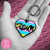 Image of TEEN HEARTS KEYCHAIN