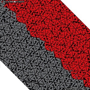 Image of AVALON7 CASCADE RED/GREY BANDARIL- SNOWBOARD FACEMASK