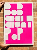 Image of Magenta Bob Eight Pop Poster