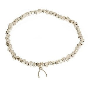 Image of Silver Wishbone Bracelet