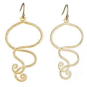 Image of Gold Gypsy Earrings