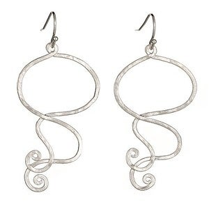 Image of Silver Gypsy Earrings
