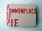 Image of A Commonplace Book Of Pie