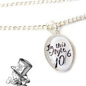 Image of  Alice in Wonderland Necklace - The Mad Hatter