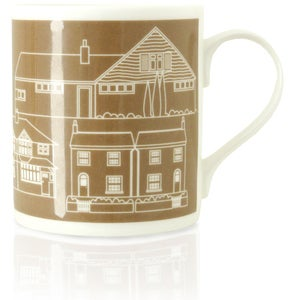 Image of Town Bone China Mug