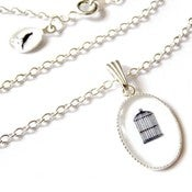 Image of The Empty Birdcage Necklace