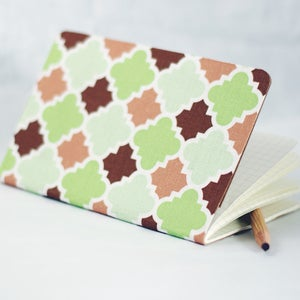 Image of Tilework Fabric Notebook