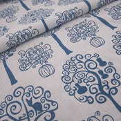 Image of Orchard on 100% organic cotton - boathouse