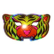 Image of HOLOGRAPHIC TIGER MASK
