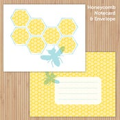 Image of Beehive Printable Stationery Set